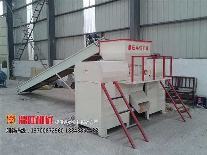 提高撕碎机生产效率的解决方案